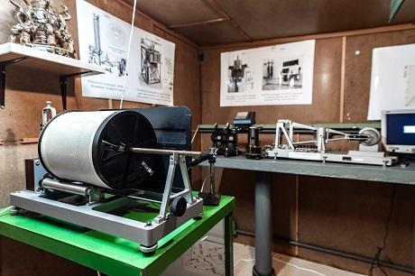Exponáty v Muzeu seismometrie